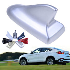 Silver Car SUV Shark Fin Antenna Roof Dummy For BMW Wagon Aerial Trim Universal