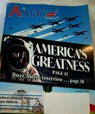 Amac Magazine, August 2020, America's Greatness, Buzz Aldrin, Nat'l Parks, New