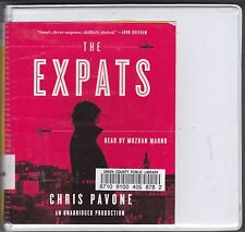 The Expats by Chris Pavone (2012, CD, Unabridged) Suspense Thriller Novel