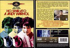 HO SPARATO A ANDY WARHOL - DVD NUOVO E SIGILLATO, PRIMA STAMPA, UNICO ONLINE