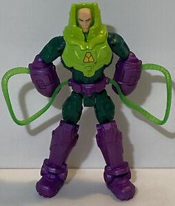 """DC COMICS LEX LUTHOR KRYPTONITE SUIT Action Figure 6"""" Mattel 2013 Superman"""