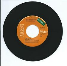 """1971 ELVIS """"I REALLY DON'T WANT TO KNOW"""" W/ORIG.PIC.SLEEVE 45 rpm 7"""""""