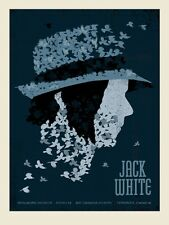 Jack White Stripes Poster 2014 Toronto Canada Signed & Numbered #/220