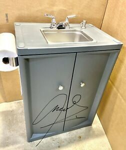 Portable Sink Mobile Hand Wash with Hot and Cold Water with NSF Parts 110V