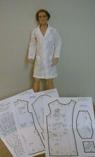 "Lab/Doctor's Coat Pattern 17MR08 For 17"" Tonner Matt/Rufus/Simon/Phin  Dolls"