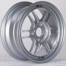 "Enkei RPF1 Wheel (16x7"", 43mm, 4x108, SINGLE) Silver Rim for Fiesta ST"