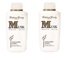 Bettina Barty White MUSK Body Lotion 2 x 500 ml Sparpack  Neu !