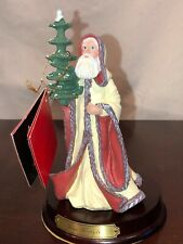 Vtg Duncan Royale History Of Santa Claus Kris Kringle Figurine Collector's Ed Po