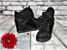 WOMENS SPoRTy High Top WeDGe SNeaKer Ankle Boots SHOE 7.5 M