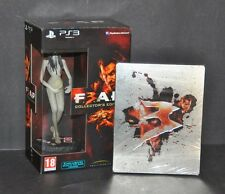 FEAR 3 PS3 COLLECTORS EDITION WITH FIGURINE + STEELBOOK - BRAND NEW SEALED - UK