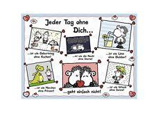 PUZZLE RAVENSBURGER 500 pièces-Sheepworld: chaque jour sans toi (54897)