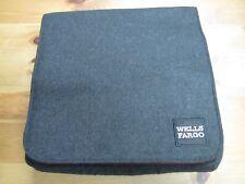 WELLS FARGO MESSENGER BAG! BLACK & RED! RARE! FELT LIKE EXTERIOR! BRAND NEW!