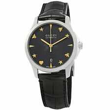 Gucci YA126469 G-Timeless para mujer Negro Reloj Automático