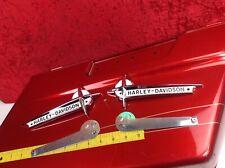 Harley Davidson OEM Vintage Style Gas Fuel Tank Emblems Touring Softail Dyna