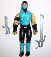 MORTAL KOMBAT SUB ZERO Vintage G.I. Joe Action Figure COMPLETE 3 3/4 C9 1994