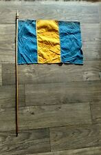 WW2 1940s Liberation Flag from Czechoslovakia Ukraine Rare War Survivor History