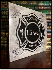 Local 717 ✎SIGNED♫ by LIVE ED KOWALCZYK & ALL BAND MEMBERS LP Vinyl Autographed