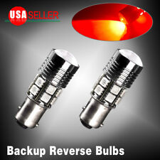 2 x 1157 Super Red High Power 7W LED BAY15D Tail Stop Brake Light Bulbs