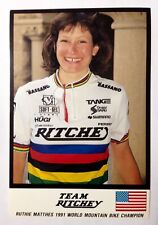 Ruthie Matthes - Team Ritchey - Old School MTB -