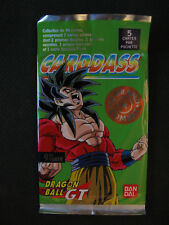 Booster Dragon Ball Z DBZ Carddass Power Level Le grand Combat Part 9 Fr - 1998