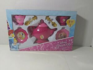 NEW Disney Princess 8 piece Tea Set (Pink)