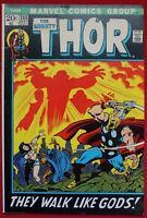 The Mighty Thor Vol. 1 Issue #203 Marvel Comics John Buscema Ego-Prime Death '72