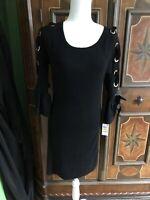 INC International Concepts Womens Size 4 Black Dress