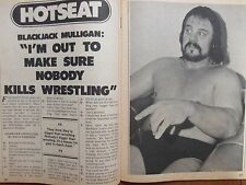 1980 Wrestling(BLACKJACK  MULLIGAN/DICK  MURDOCH/MASKED  SUPERSTAR/HARLEY  RACE)