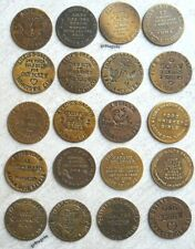 Brothel Cat House tokens 20 pc set solid brass hotel whore house