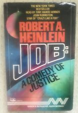 """Job: A Comedy of Justice"" by Robert A. Heinlein (1986, Cassette)."