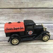 Liberty Classics Clark's Super Gas Diecast Bank with Key 1:25