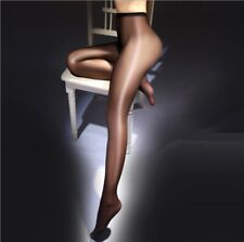 Sheer Silk Crotchless thin Bright Shinning Silk Stockings Tights Socks Pantyhose