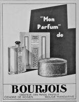 PUBLICITÉ DE PRESSE 1926 MON PARFUM DE BOURJOIS