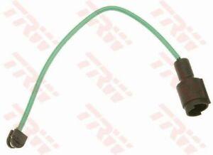 TRW Brake Pad Wear Sensor GIC109 fits BMW 7 Series 750 i,iL V12 (E32) 220kw