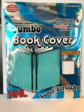 Book cover Sox New Stretch Fabric text jumbo xxl Teal