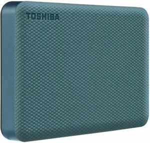 Toshiba Canvio Advance 4TB Portable External Hard Drive USB 3.0, Green - HDTCA40