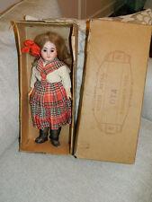 """Antique All Original French 15"""" Cabinet Size Bisque Bebe Doll Original Box SFBJ?"""