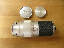 Leica 135mm Elmar f/4 Lens in Leica Screw Mount M39 EXC+++ **Beautiful Glass**