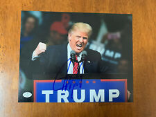 President Donald Trump Hand Signed Autographed 8x10 Picture Photo w Coa
