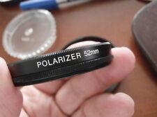 FILTRO POLARIZZATORE CIRC. CPL FILTER 52 mm. DIGITAL HD per Canon Nikon