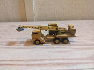 Vintage Gibbs Mercury Lit'l Toy No.11-98 Gradall Excavator Truck 1:87 Scale USA
