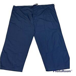Dickies Unisex 4X Navy Blue Scrubs Medical Pants 50106X NEW NWT'S