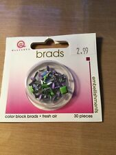 Color Block Brads Fresh Air QUEEN & CO  APPROX. 30 PCS