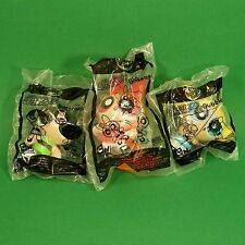 Full Set 3 McDonalds Happy Meal Toys 2008 The Powerpuff Girls Promotional Toy