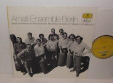 2555 006 Bartok Divertimento Stravinsky Concerto Webern Amati Ensemble Berlin