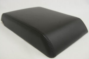 Fits 05-07 Hummer H2 Luxury Faux Leather Armrest Center Console Cover Black