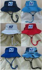 Usps United States Postal Service Safari/Boonie Hats 100% Cotton Stonewashed