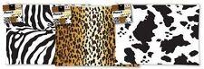 Vaca Cebra Leopardo Tigre Lápiz Pluma Funda Cosmético Maquillaje Bolsa Papelería