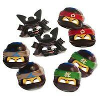 10 LEGO NINJAGO SPIN SPINING TOPS MIX COLOR  BIRTHDAY PARTY FAVORS