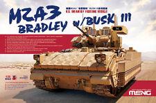 Meng Model SS-004 1/35 U.S. Infantry Fighting Vehicle M2A3 Bradley w/BUSK III